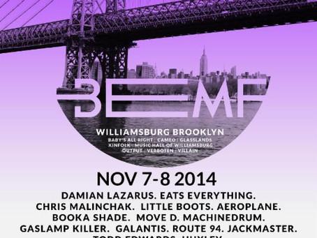 Brooklyn Electronic Music Festival Announces Lineup: Eats Everything, Booka Shade, Aeroplane, many m