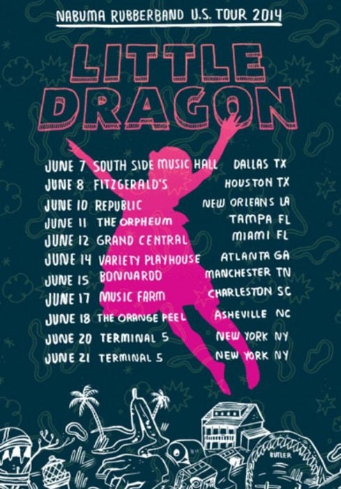 little dragon tour