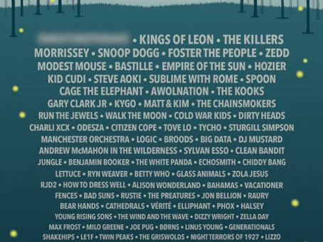 Firefly Music Festival Announces 2015 Line Up: Kings of Leon, The Killers, Morrissey, Snoop Dogg, Mo