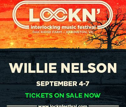 Lockn' Festival Adds Willie Nelson To Their 2014 Lineup