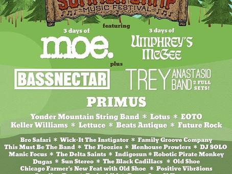 Umphrey's & moe. Tap Bassnectar, Primus, Trey Anastasio for Summer Camp 2014 Initial Line