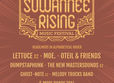 Suwannee Rising Music Festival: Lettuce, moe., Oteil & Friends, more at the Inaugural Suwannee