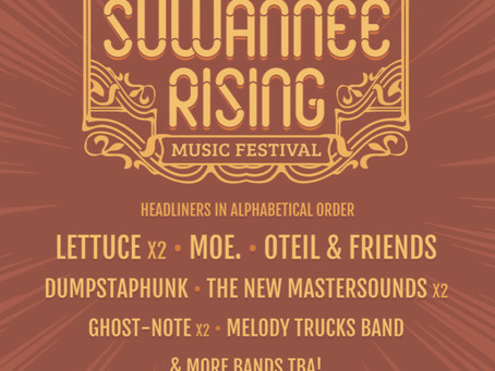 Suwannee Rising Music Festival: Lettuce, moe., Oteil & Friends, more at the Inaugural Suwannee