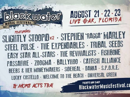 Blackwater 2014 Lineup Announcement – They Went Reggae!