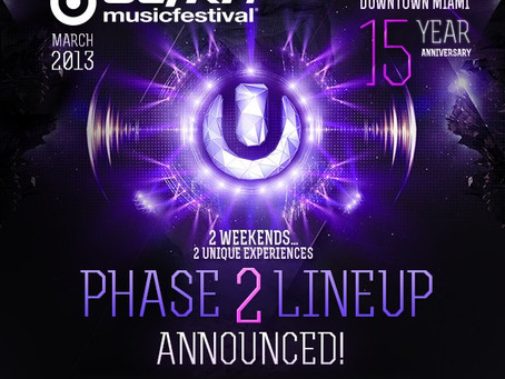 Ultra Music Festival Announce Phase 2: Snoop Dogg, Pretty Lights, Rusko and more!