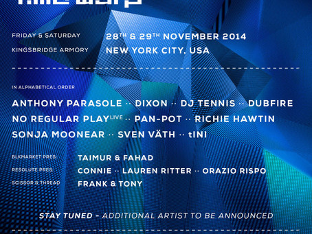 Time Warp US Announces Lineup: Dubfire, Richie Hawtin, No Regular Play+++