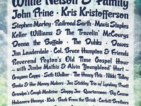 Suwannee's Magnolia Fest: Willie Nelson, Stephen Marley, Railroad Earth, Keller Williams, many
