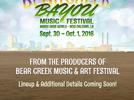 BEAR CREEK IS BACK WITH A NEW HOME
