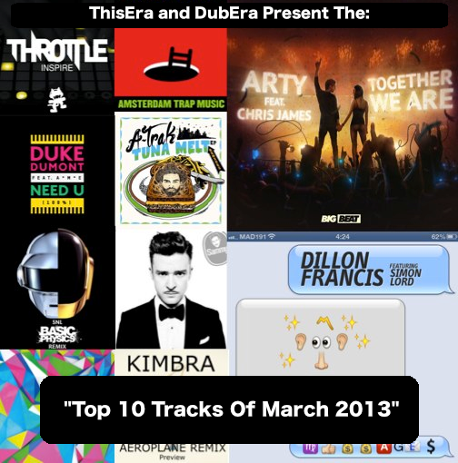 Top-10-Tracks-Of-March-20131