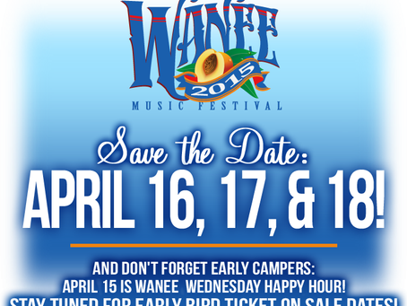 Wanee 2015 Dates Announced, But Who Will Headline?