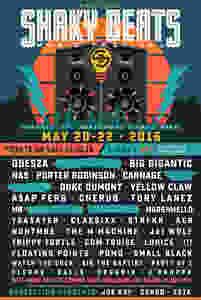 Shaky Beats Festival Lineup 2016