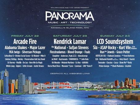 Panorama Announces Inaugural Lineup: Arcade Fire, Kendrick Lamar, LCD Soundsystem +more