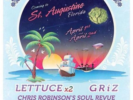 Fool's Paradise, a New St. Augustine Festival, Announces Lineup: Lettuce, C-Rob, GRiZ +more