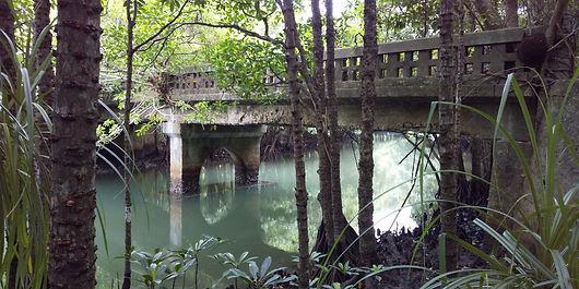 ウタラ橋全景