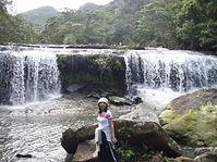 西田サンガラの滝へ到着