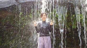 西田サンガラの滝へ一人旅