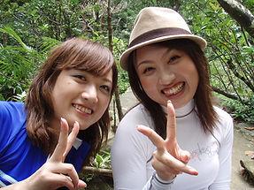 女子旅でピナイサーラの滝