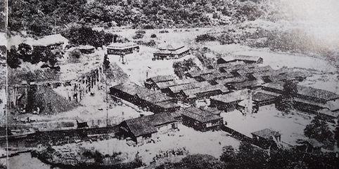 ウタラ炭鉱の住宅