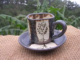 清峯窯のコーヒーカップ