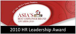 HR Leadership Award Asia's Best employer