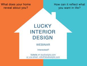 *Neu / New Webinar: LUCKY INTERIOR DESIGN