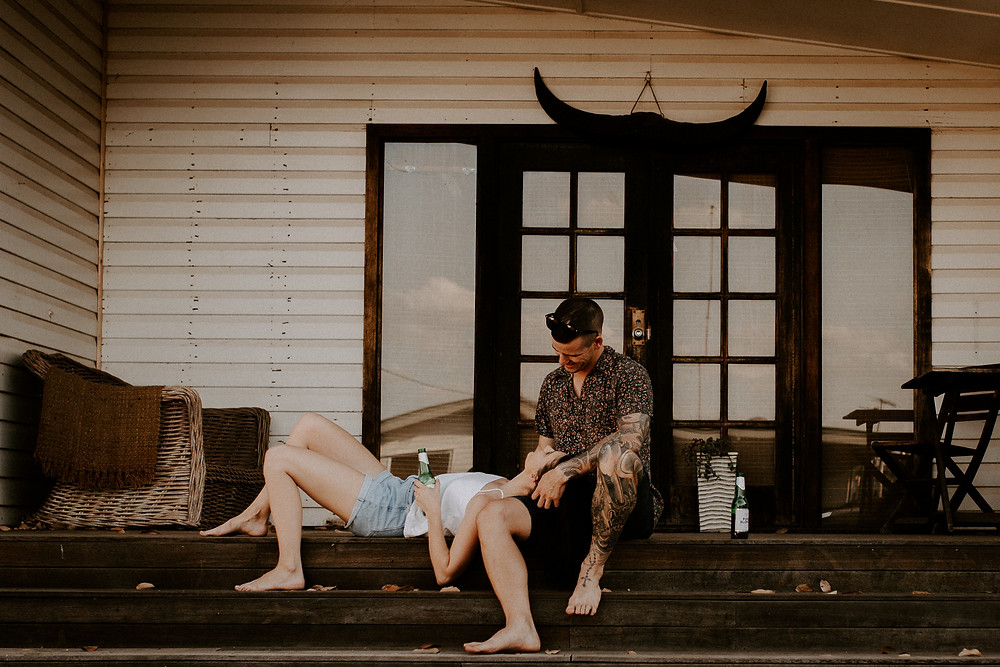 Relaxed Couple Photography Mount Isa