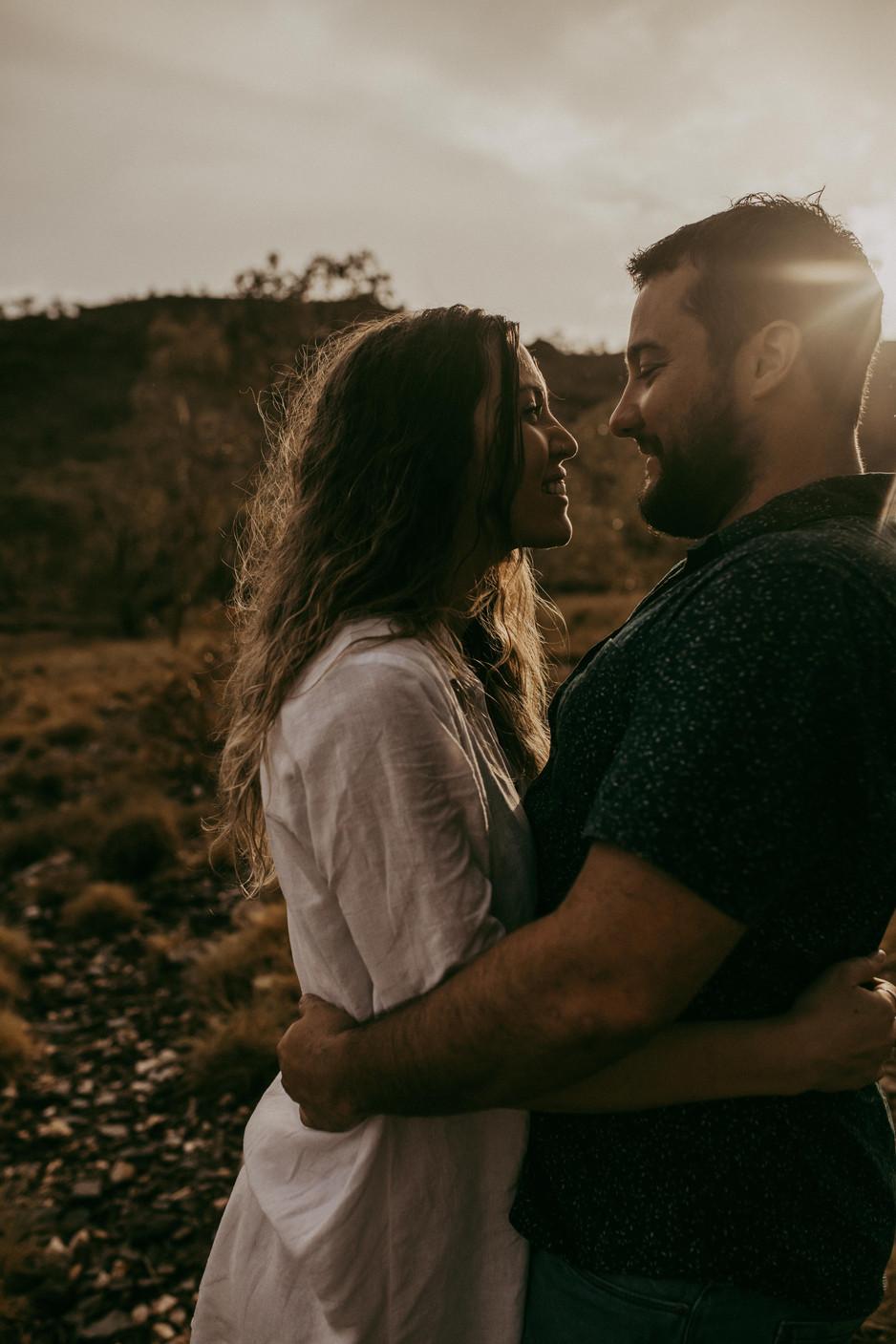 Engagement Adventure Session || Mount Isa Photographer