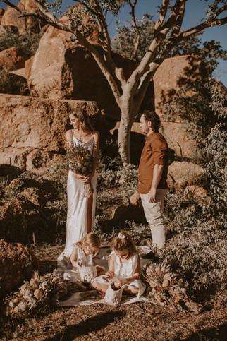 Corey + Zianna - Sunset Elopement