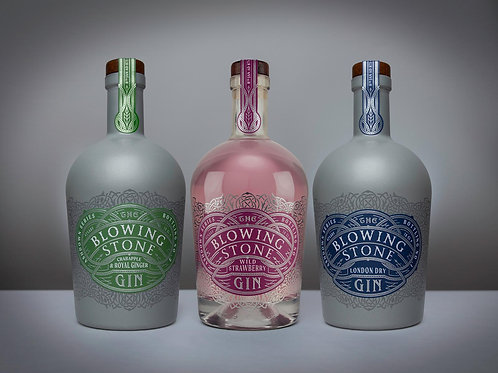 The Blowing Stone - Pack of 3 x 70CL (One of Each Variety)