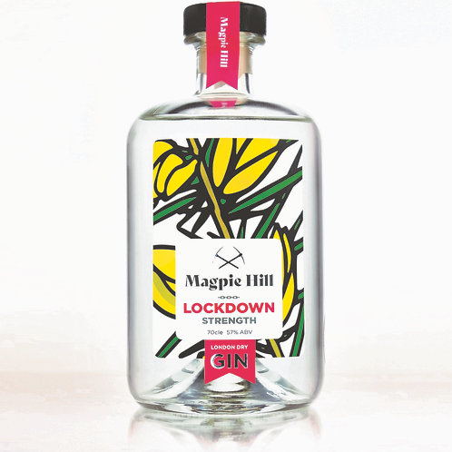 "Magpie Hill ""Lockdown Strength"" Navy Gin - Limited Edition"