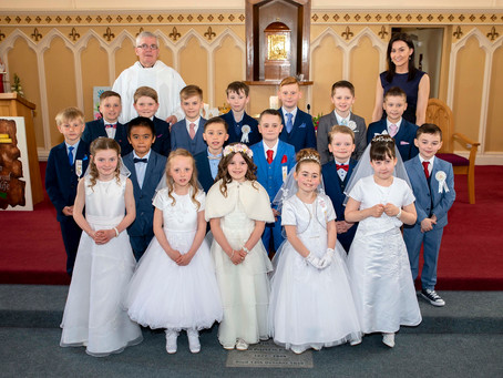 Kilcornan First Holy Communion 2018