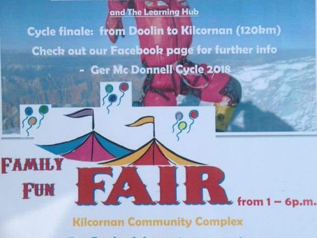 Ger McDonnell Cycle and Family Fun Fair