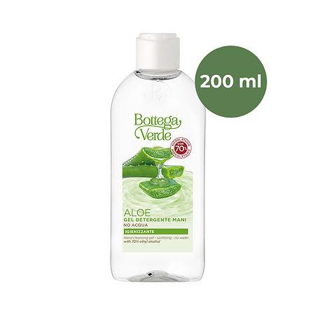 Bottega Verde Käsidesigeeli Aloe - 70% etanolialkoholi