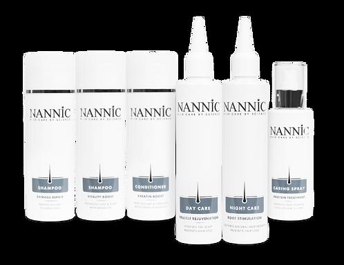 Nannic -hiustuotteiden tutustumispaketti