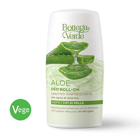 Bottega Verde Alumiiniton ja soodaton Aloe Vera -roll-on deodorantti