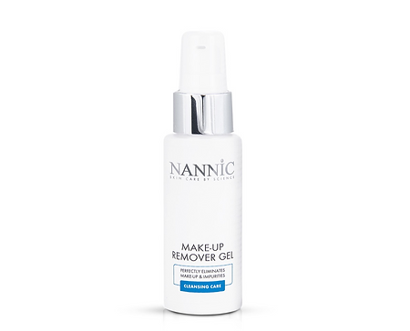 Nannic Make up remover gel - meikinpoistoaine, matkakoko