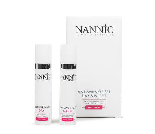 Nannic Anti Wrinkle Lip & Eye Zone 2 x 15ml