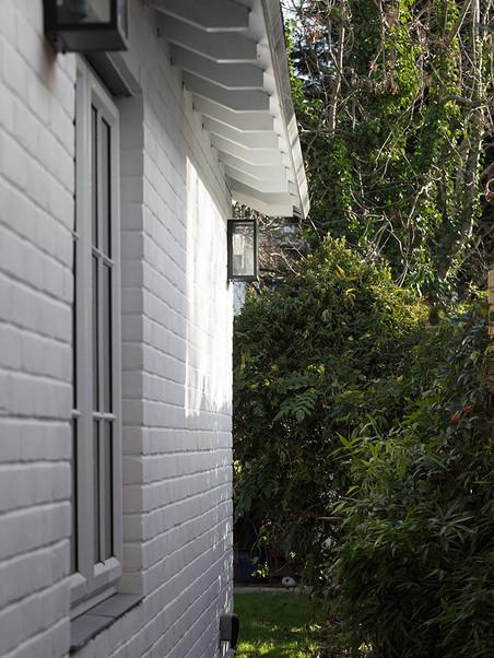 Scissor Truss House - Outdoor Side