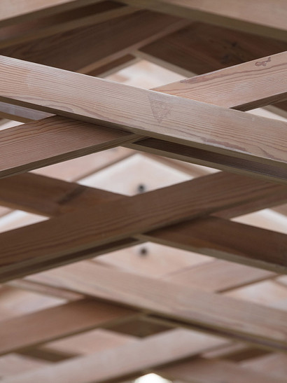 Scissor Truss House - Truss Detail