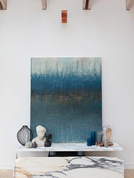 Elena Maran Painting -Morning of the Battle
