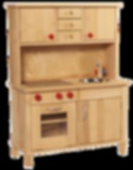 kompakte Holzküche von NIC