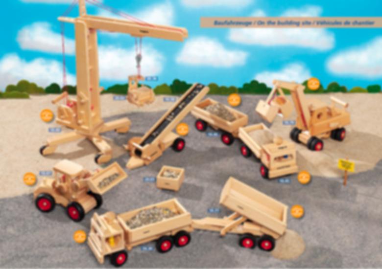 Übersicht der Fagus Baufahrzeuge
