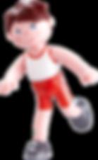 Jungebfigur Lukas