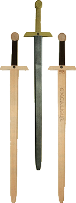3 verschiedene Langschwerter