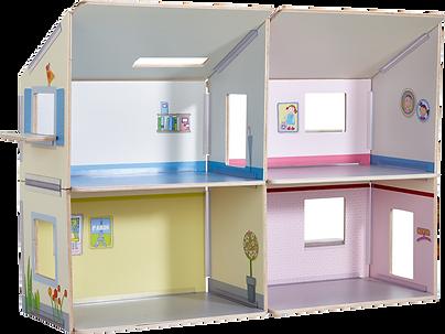 Puppenhaus ohne Figuren