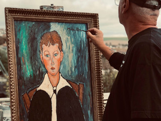 PAINTING OF THE MONTH – A version of Modigliani's 'Boy in a Sailor Suit 1917'
