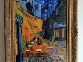 Painting Of The Week - David Henty's recreation of Vincent Van Gogh 'Cafe Terrace at Night&#