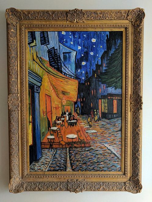 After Vincent Van Gogh 'Cafe Terrace at Night'