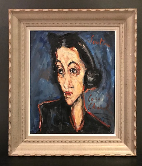 After Chaim Soutine 'Coco Chanel'