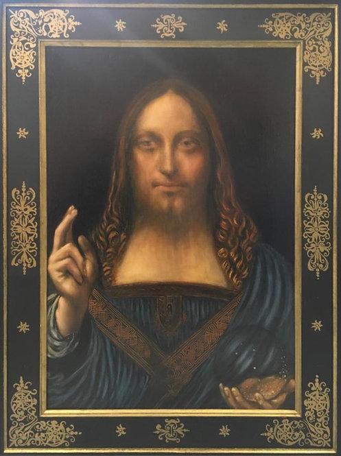 After Leonardo da Vinci - Salvator Mundi